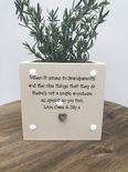 Personalised Flower / Plant Pot GRANDPARENTS gift NANNY GRANDAD OR ANY NAME